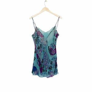 Victoria's Secret 100% Silk Floral Nightgown